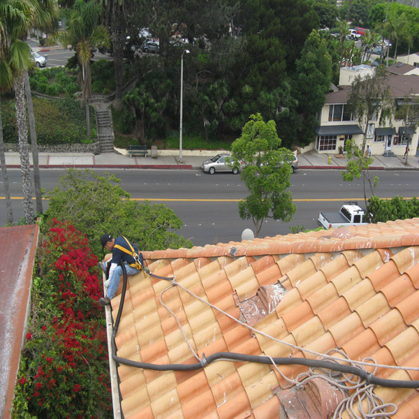 Rain Gutter Cleaning Commercial